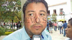 El director de Gestión Procesal de la Gobernación, Iván Vaca.