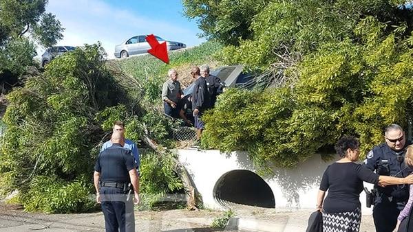 Harrison Ford rescató a una mujer atrapada en su vehículo (+fotos)