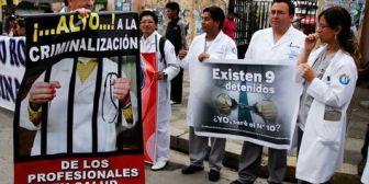 Médicos de Bolivia inician este jueves una huelga; reforzarán los sistemas de emergencia