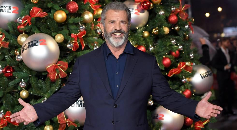 Mel Gibson, en el estreno de