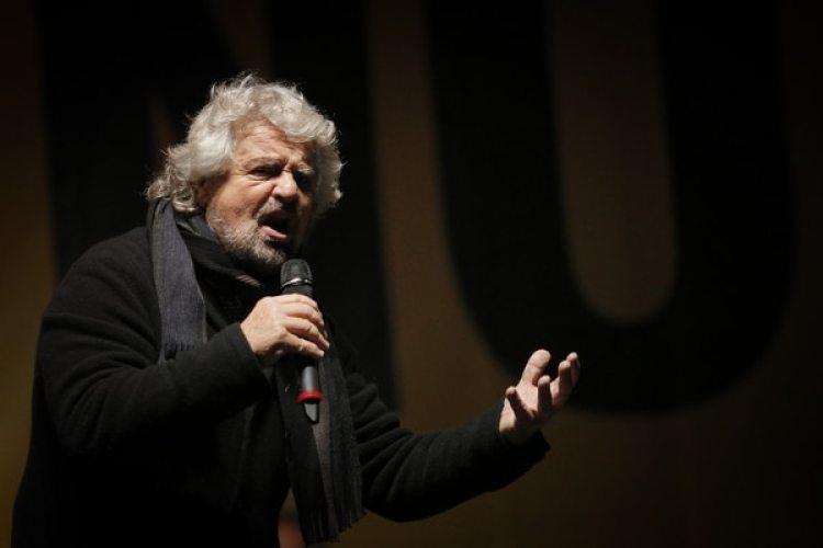 El líder del Movimiento Cinco Estrellas Beppe Grillo (AFP)