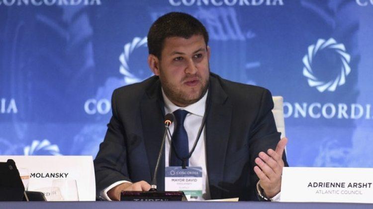 David Smolansky, periodista y político de Voluntad Popular (Getty)