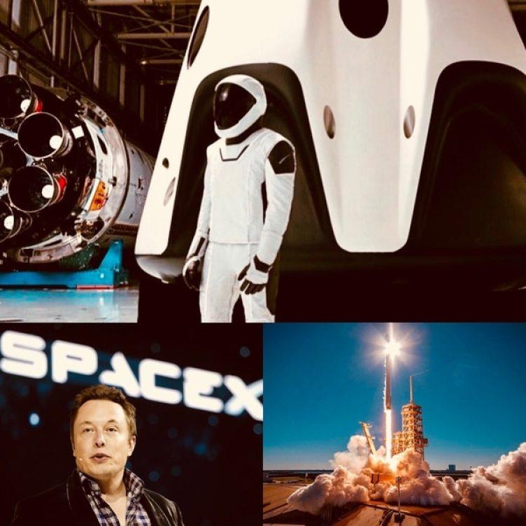 Elon Musk quiere ganar la carrera al espacio al ofrecer vuelos comerciales con su nave Dragon de la firma SpaceX