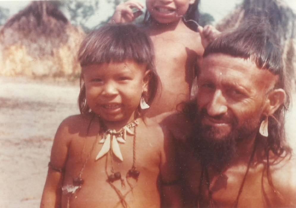 Foto: Vicente Cañas, cuando ya vivía entre la comunidad indígena Enawenê Nawê. (Jesuitas)