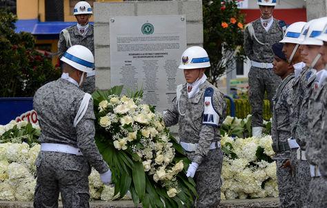 Homenaje en Colombia a las víctimas del accidente aéreo de Chapecoense