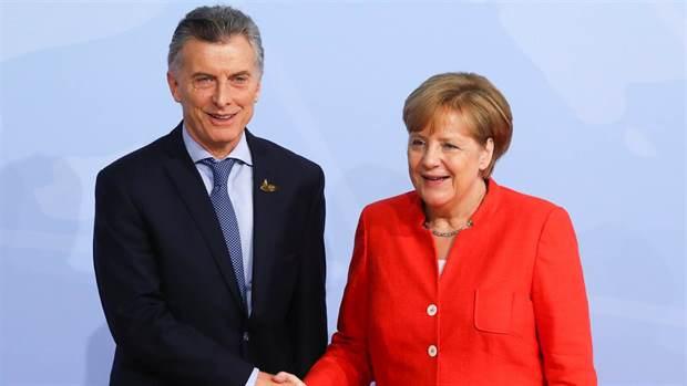 Macri y Merkel, este año en Hamburgo