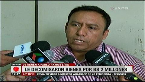 Fiscalía: Bienes de Pablo Ramos fueron adquiridos gracias al narcotráfico