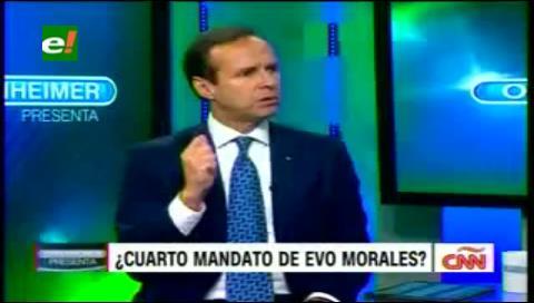 """Tuto en Oppenheimer: """"Morales tiene que escoger si quiere tiranía o mar con soberanía"""""""