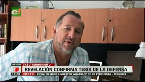 Gary Prado dice que declaraciones por caso Terrorismo son opuestos a la Fiscalía