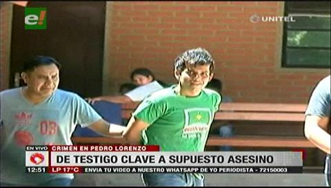 Asesinato en Pedro Lorenzo: De testigo clave a supuesto asesino