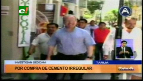 Tarija: Gobernación cierra filas con Sedeca, ven móvil político