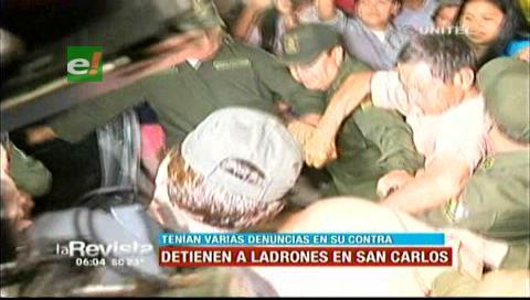 Pobladores de San Carlos casi linchan a dos sujetos que atracaban a menores