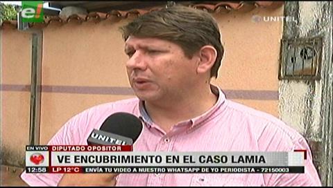 Diputado Gutiérrez denuncia encubrimiento del Gobierno en el caso de LaMia