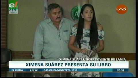LaMia: Ximena agradece en su libro que no dejaron que viaje con su hijo