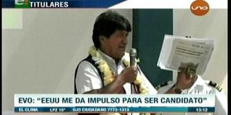 Video titulares de noticias de TV – Bolivia, mediodía del jueves 30 de noviembre de 2017