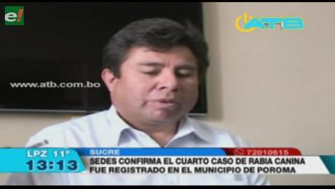 SEDES de Chuquisaca confirmó 4 casos de rabia canina