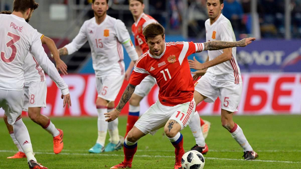 Rusia-España: vibrante empate a puro gol en San Petersburgo