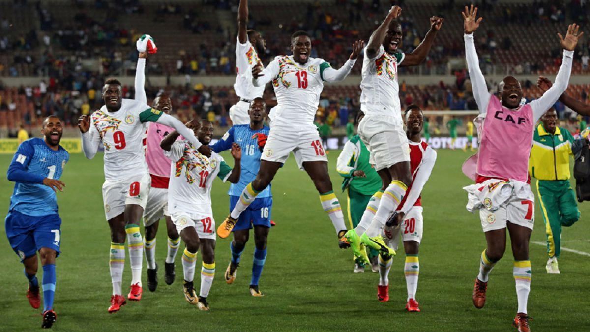 Senegal venció a Sudáfrica y clasificó al Mundial