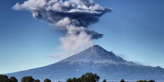 México: El volcán Popocatépetl alcanza su actividad más intensa desde 2013