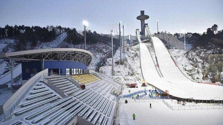 La ciudad donde se realizarán los JJOO de Invierno está a 80 kilómetros de la frontera con Corea del Norte