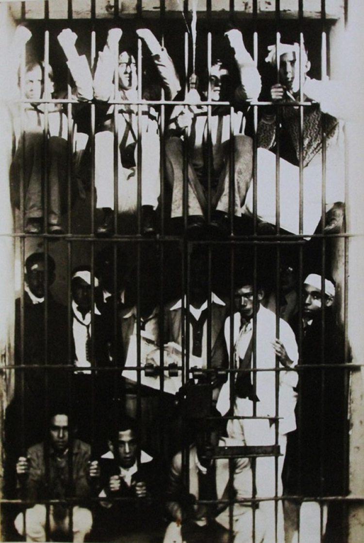 Estudiantes disidentes presos (Walker Evans)
