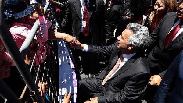 Para febrero fijan consulta popular convocada por Lenín Moreno en Ecuador