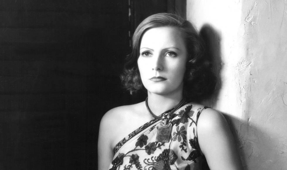 Greta Garbo, en la película