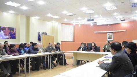 Reunión entre la ministra de Salud y los representantes de los médicos.