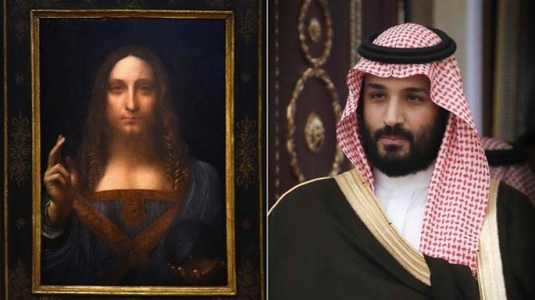 """El príncipe heredero de Arabia Saudita, Mohamed bin Salman, es el verdadero comprador del """"Salvator Mundi"""""""