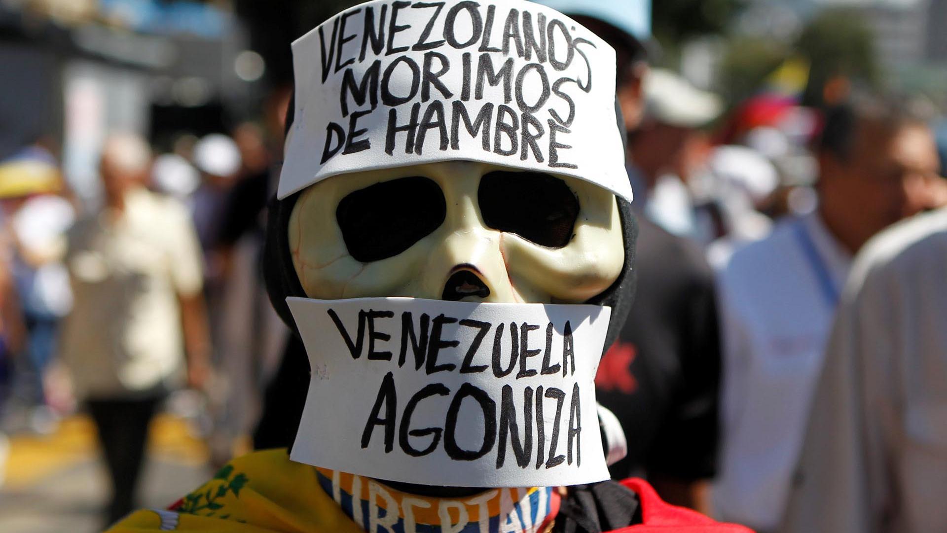 venezuela hambre