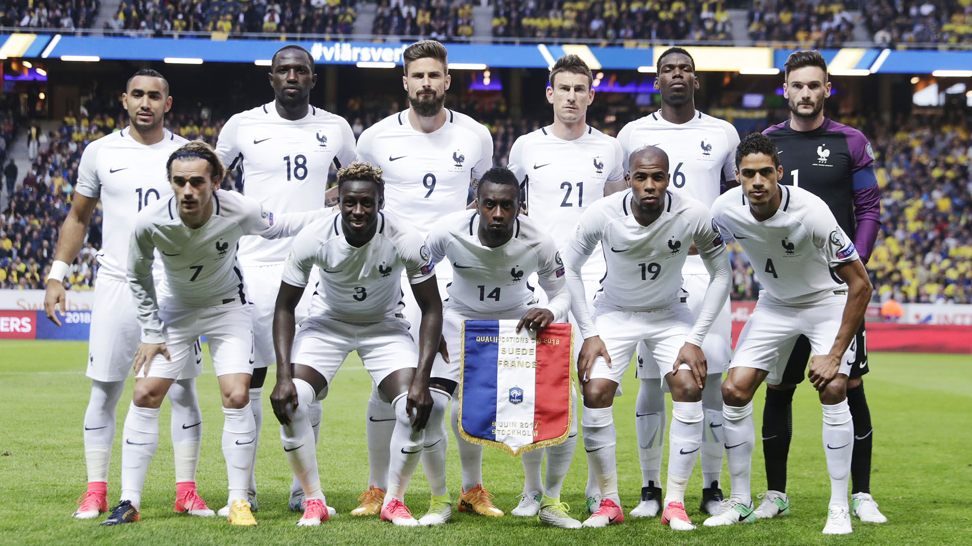 Con un promedio de edad de 26 años, el valor de Francia es de 748,70 millones de dólares