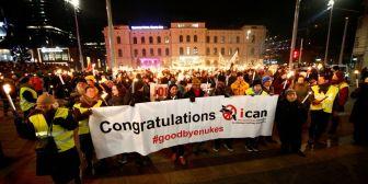 Los antinucleares reciben el Nobel de la Paz en contexto de crisis norcoreana