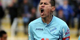 Arce, el goleador de Bolívar