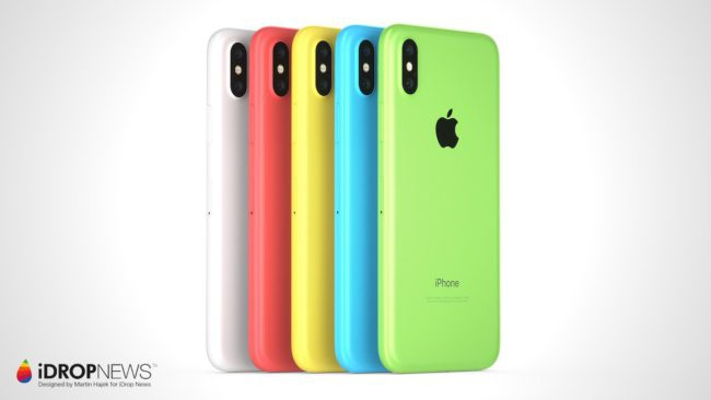 iPhone-Xc, un iPhone barato y de plástico