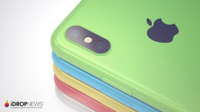 Los distintos colores del iPhone Xc