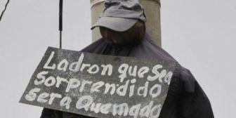 Presunto delincuente muere linchado y otro queda herido en Cochabamba