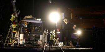 Crece saldo mortal por colisión de tren y autobús en Francia