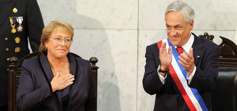 Bachelet entregará nuevamente la banda presidencial a Piñera