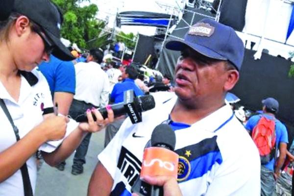 De la Barra se defiende y dice que no estaba de servicio en concentración del MAS