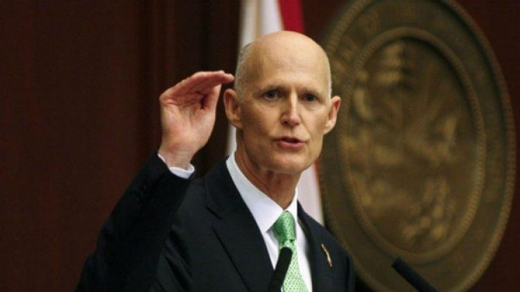 El gobernador de Florida Rick Scott