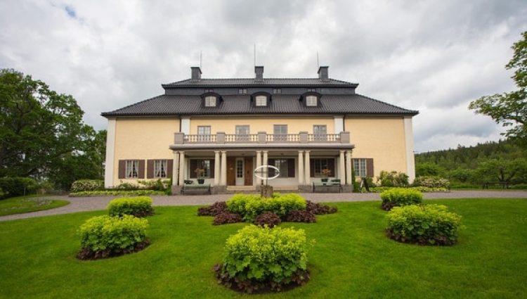 Marbacka, hoy una fundación, fue la casa de la familia Lagerlöf