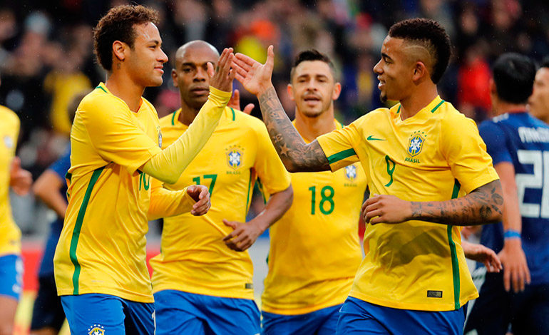 Resultado de imagen para seleccion brasileña 2017