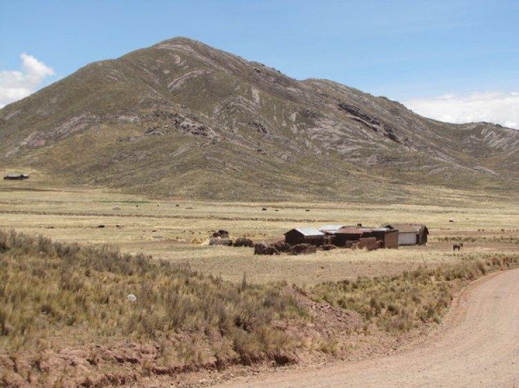 Una imagen actual de la Quebrada de Yuraicoragua, en Bolivia, donde se produjo el primer desbande, tomada por el autor durante su trabajo de campo (Alejandro Rabinovich)