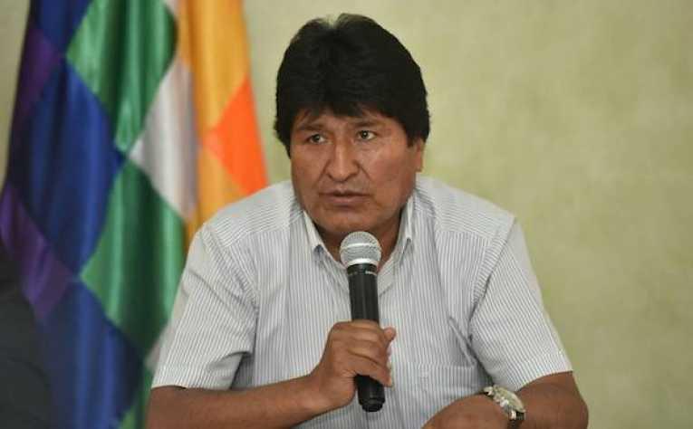 Evo Morales critica doble moral de EEUU sobre comicios