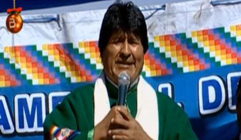 Evo Morales asegura que Bolivia triunfará en demanda ante La Haya