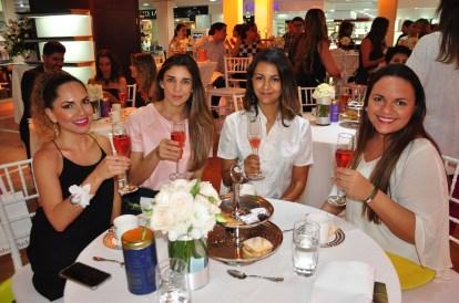 Daniela Soliz, María Luisina Maldonado, Sasha Vasquez, Irene Pessoa