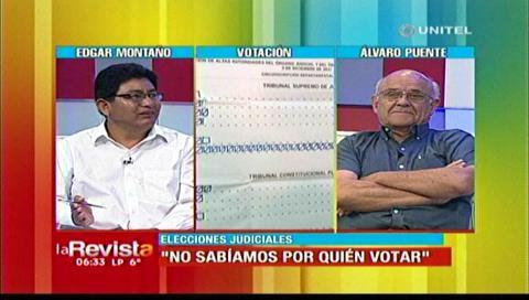 Puente destacó triunfo del voto nulo, Cabrera afirma que sólo fue desconocimiento de la población