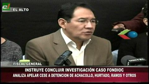 Fiscal General instruye el cierre de las investigaciones del caso Fondo Indígena
