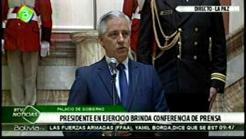 García Linera asegura que Carlos Mesa sigue como vocero de la demanda marítima boliviana