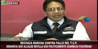 """Silva asegura que Revilla """"manosea"""" la Asamblea de la Paceñidad para fines políticos partidarios"""